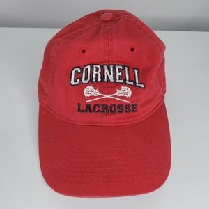 Cornell Lacrosse Red Dad Hat Cap Legacy